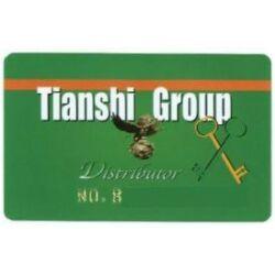 Tiens törzsvásárlói kártya